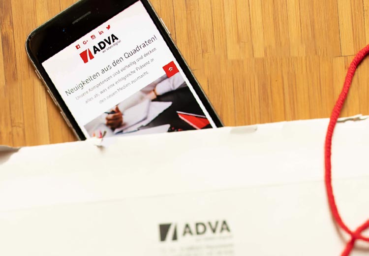 ADVA E-Mail Newsletter