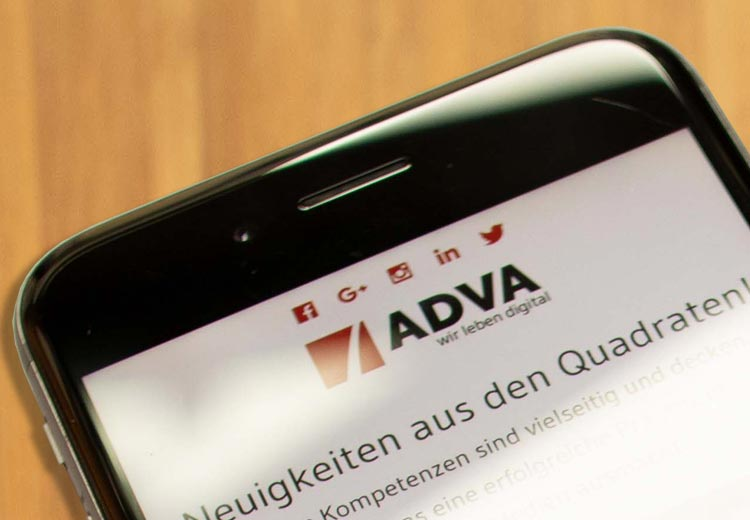 ADVA Onlinemarketing News Handy